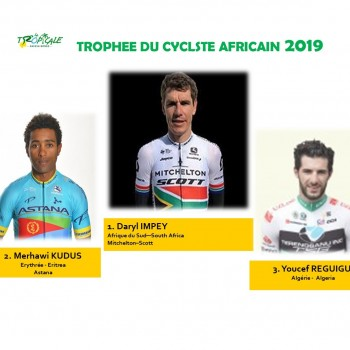 DARYL IMPEY, CYCLISTE AFRICAIN 2019 !
